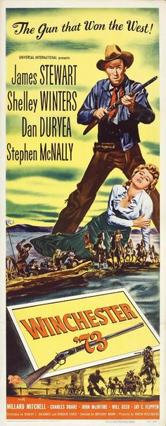 Winchester 73 - James Stewart - Shelley Winters - Dan Duryea - Stephen McNally…
