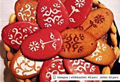Húsvéti mézes tojások Gingerbread Cookies, Easter, Desserts, Food, Gingerbread Cupcakes, Tailgate Desserts, Deserts, Easter Activities, Essen