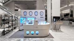 interior design, furniture, VMD, retail, Pop-up Pop Up, Bathtub, Interior Design, Projects, Retail, Furniture, Standing Bath, Nest Design, Log Projects