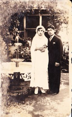 an old turkish wedding in 40s
