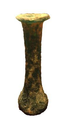 A Roman Glass Candlestick Ungentarium ca. 2nd century AD ROMAN  ANTIQUITIES  : More At FOSTERGINGER @ Pinterest