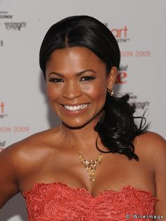 Nia Long attends the Heart Truth's Red Dress Collection 2009 Fashion Show d...