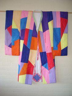kimono van Yvette Tol, tweezijdig draagbaar