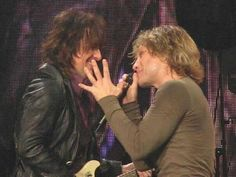Richie & Jon Having fun