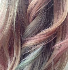 Pastel Hair Color-Demi-Permanent Toners - Color Touch by Wella Hair Lights, Hair Inspo, Hair Inspiration, Coloured Hair, Pastel Hair, Pink Hair, Crazy Hair, Hair Art, Hair Goals