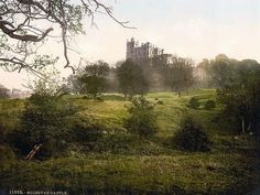Bolsover Castle, Derbyshire, England.