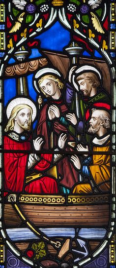 Christ Teaching from Simon Peter's boat by Lawrence OP, via Flickr