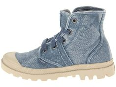 Palladium Women's Pallabrouse Pampa Hi Boot,Blue,11 M US  #Palladium #Shoes