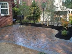 patio design ideas with pavers | Download Wallpaper Patio Ideas 1024x768 Backyard Paver Patio ...