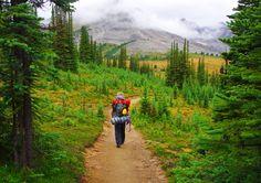 Hike the Skyline Trail in Jasper National Park, Alberta, Canada. #travel #bucketlist #hiking