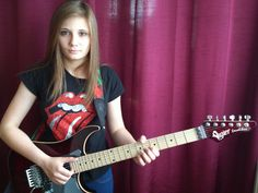 """The Amazing Tina S. """" Comfortably Numb """" Solo New artist showcase ! Awesome and she's only 14 years old."""