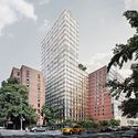 New Renderings Reveal Herzog & de Meuron's Nearly Completed Hotel Tower in Manhattan Courtesy of Ian Schrager Company