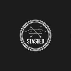 STASHED - Logo design