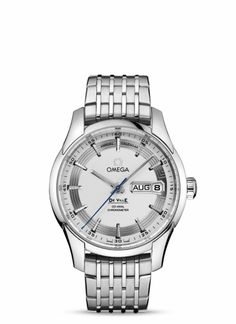 OMEGA Watches: De Ville Hour Vision Annual Calendar - Steel on steel - 431.30.41.22.02.001