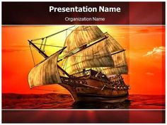 Sailboat transportation powerpoint template is one of the best sailing in sea powerpoint template is one of the best powerpoint templates by editabletemplates toneelgroepblik Images