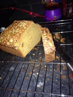 Muscavado Madeira cake (Rachel Allen recipe - added some seeds on top!)