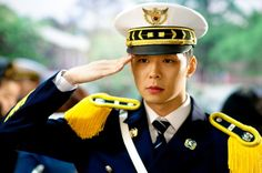 JYJ's Yoochun looks dashing in a police uniform on the set of 'I Miss You'