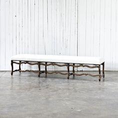 Os De Mouton Settee Bench - Chairs / Ottomans - RLH Collection - Products - Ralph Lauren Home - RalphLaurenHome.com