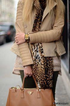 Жакет & Куртка / черная кожаный жакет с мехом
