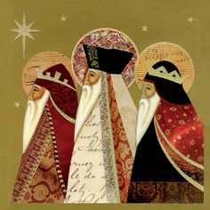 xmas card kings | Home > Cards > Christmas Individual > Three Kings Christmas Cards