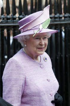 Queen Elizabeth II - Queen Elizabeth II Attends 150th Anniversary Of Eton Cadet Force