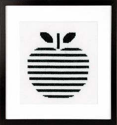Apple Cross Stitch Kit £16.00 | Past Impressions | Vervaco