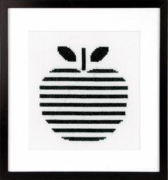 Apple Cross Stitch Kit £16.00 | Past Impressions | Vervaco