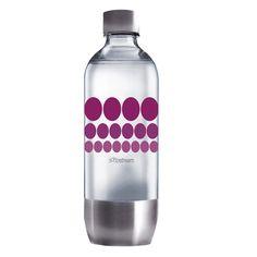 Fľaša 1l PURPLE METAL