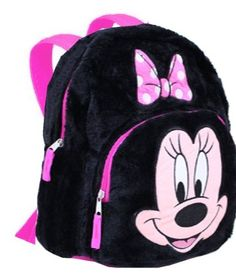 Disney Minnie Mouse Plush Mini Toddler Pre-school Backpack : For Kids Minnie Mouse Backpack, Minnie Mouse Bow, School Bags For Kids, Pre School, Baby Converse, School Backpacks, Girl Backpacks, Kid Character, Backpack Purse