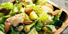 Chicken & zucchini hot salad