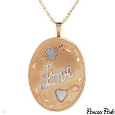 PRINCESS PRIDE ELEGANT HIGH QUALITY BRAND NEW NECKLACE LOCKET #Sale 30% #OffMarkdownPrice!  #CharmingGift!!!