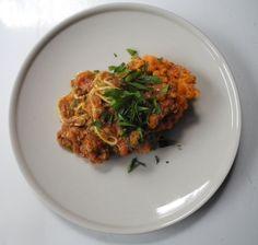 sweet potato bolognese