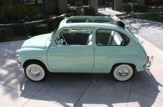 1960 Fiat - my dream car Fiat 500c, Fiat Abarth, My Dream Car, Dream Cars, Nissan Figaro, Automobile, Love Car, Used Cars, Cars And Motorcycles