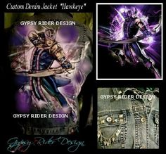Hawkeye By: Gypsy Rider Design ®