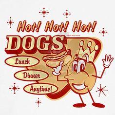 Hot Dogs Organic Women's T-Shirt