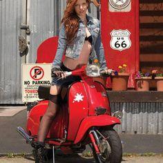 Scooter Girl Vespas 146