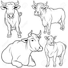 illustration cow - Hľadať Googlom