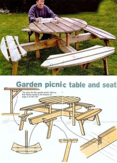 Garden Furniture Plans folding adirondack chair plans - outdoor furniture plans and