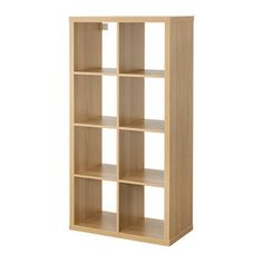 IKEA - KALLAX, Shelf unit, high gloss white, , Choose whether you want to place it vertically or horizontally to use it as a shelf or sideboard. Storage Furniture, Shelves, Diy Kitchen Storage, Kallax Ikea, Kallax Shelving Unit, Shelving Unit, Shelf Unit, Kallax Shelf Unit, Shelving