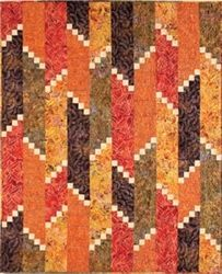 villa rosa quilt patterns | Fire Escape Quilt Pattern