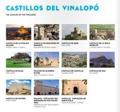 Ruta Castillos del Vinalopó #villena #turismovillena #costablanca
