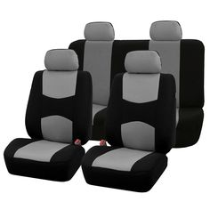 Automobiles Seat Covers Full Car Seat Cover Universal Fit Interior Accessories Car Covers Protector Color Gray Car-Styling