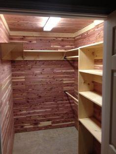 Beau Aromatic Red Cedar Closet. Love This Look! The Wood Looks Pink/purple U003c3