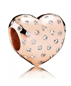 Black Friday Pandora Rose Shimmering Heart Clearance Sale