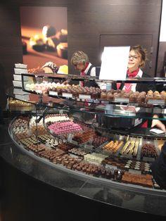 Swiss Chocolates in Lugano, Switzerland