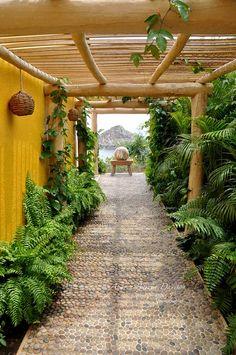 Mexican entryway.