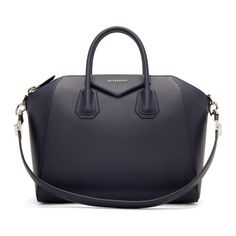 Givenchy - Sac bleu marine Medium Antigona