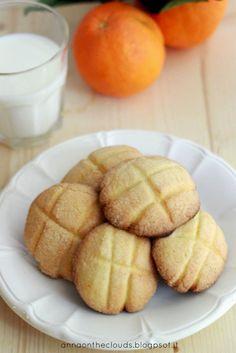 Biscotti al burro al profumo di arancia #cookies