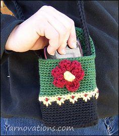 Hiking Buddy Mini Purse: #crochet pattern for purchase