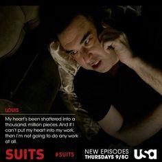 Suits, Season 3 / Louis Litt up Witty Quotes, Quotable Quotes, Movie Quotes, Series Movies, Movies And Tv Shows, Tv Series, Suits Harvey, Suits Quotes, Sarah Rafferty